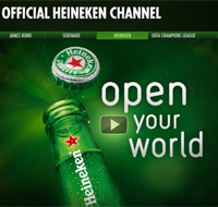 Heineken YouTube channel